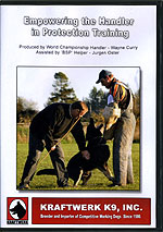 Basic Techniques for the Beginning Schutzhund Helper by Kraftwerks K9