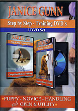 Step by Step Competitive Obedience Training by Janice Gunn