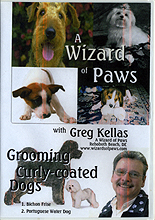 Grooming Curly-Coated Dogs by Greg Kellas