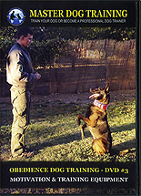 Obedience Dog Training DVD Part 3 - Motivation & Training Equipment by Maxim Basyro