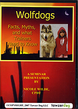 Wolfdogs: Facts, Myths & More by Nicole Wilde